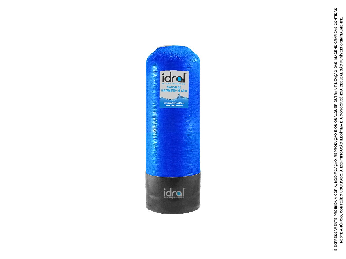 Filtro P/ Poço Remove Ferro Ferrugem Manganês 250l/h + Dosadora Automática