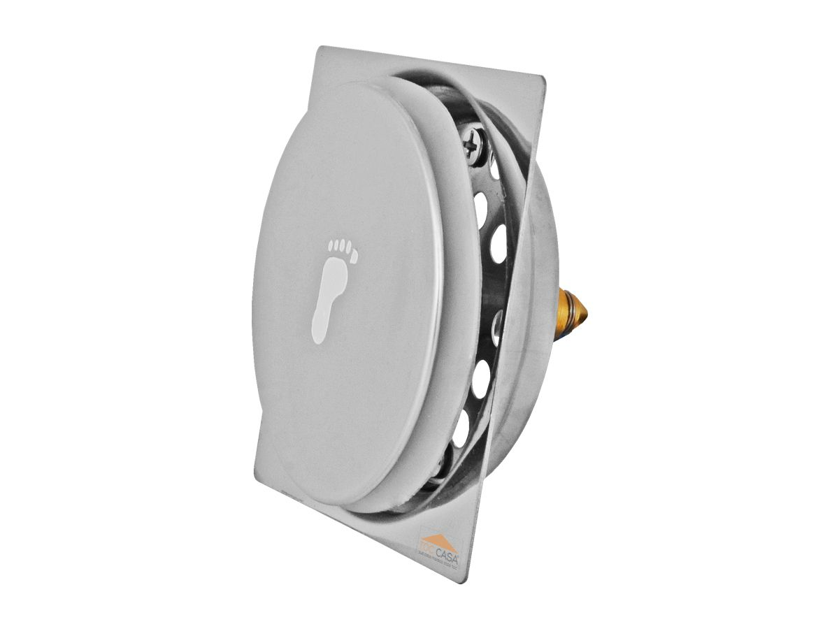 Kit 04 Ralo Click Inteligente Para Piso 15 Cm X 15 Cm