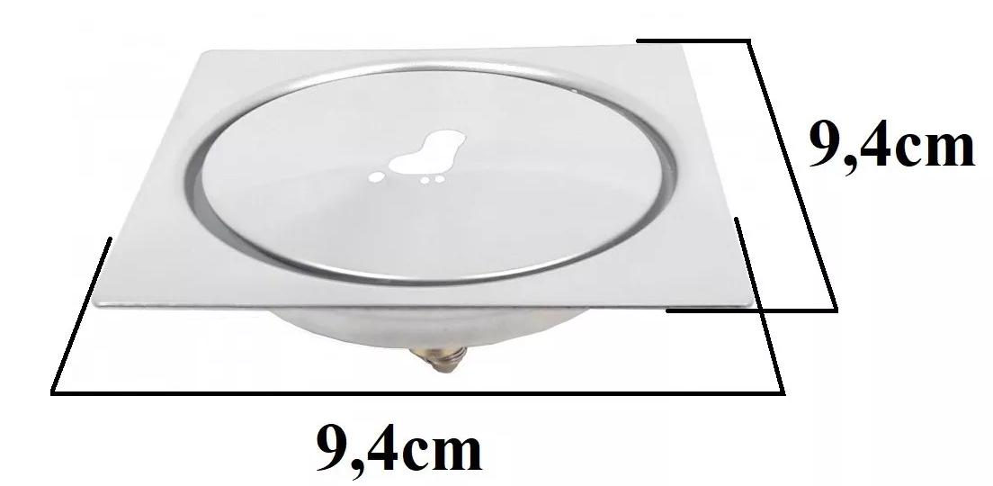 Kit 06 Ralo Click Inteligente Para Piso 10 Cm X 10 Cm