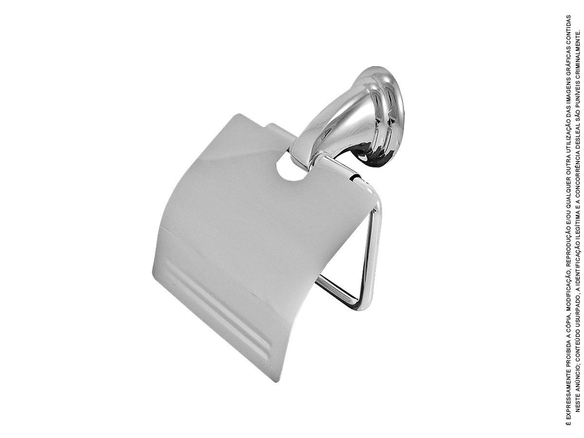 Kit Acessórios P/ Banheiro Metal Completo 6 peças