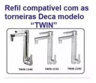 Refil Elemento Filtrante Torneira Deca Twin 1140 1148 2240