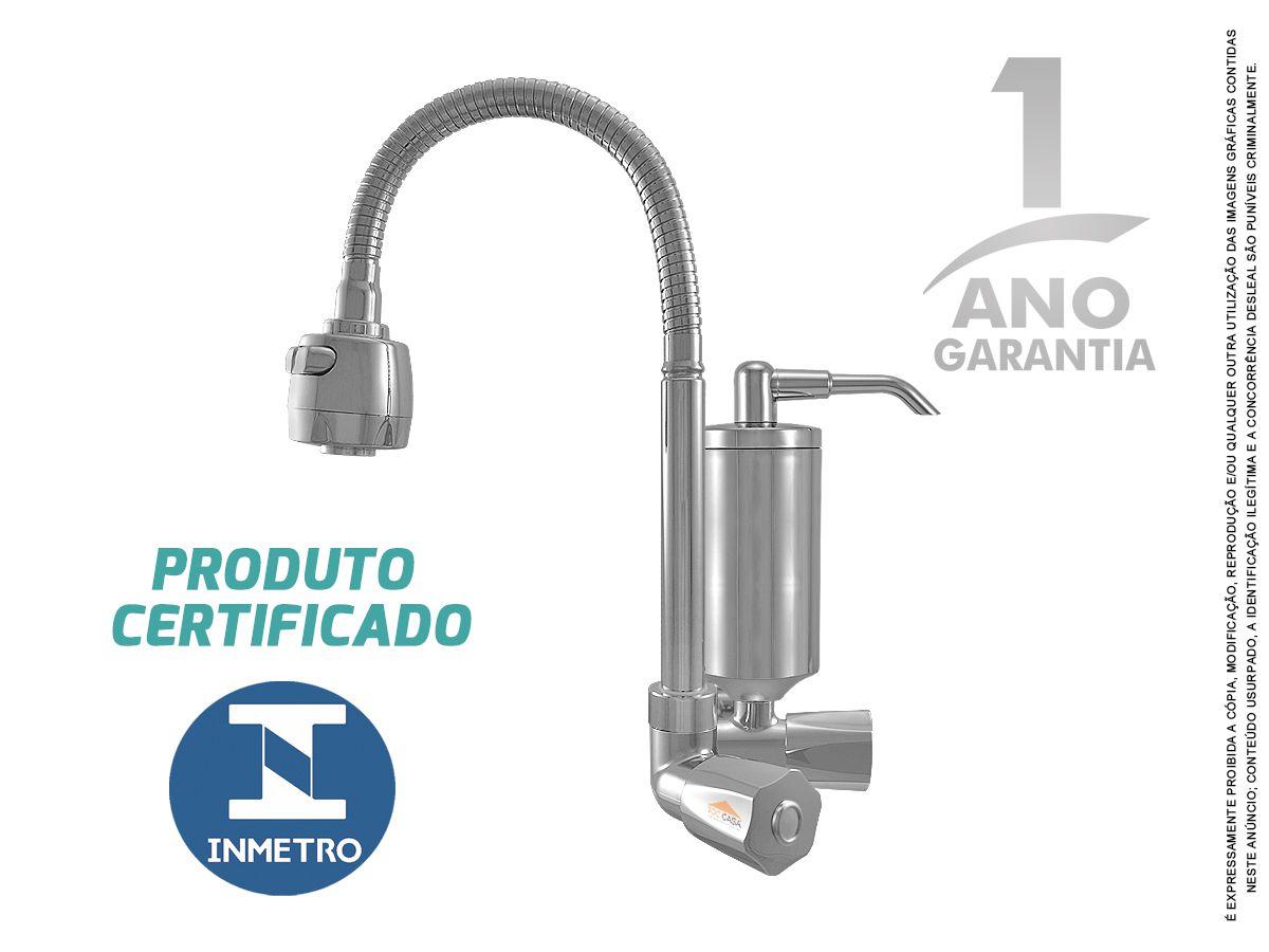 Torneira Com Filtro Cozinha Pia Parede Gourmet Inmetro C50