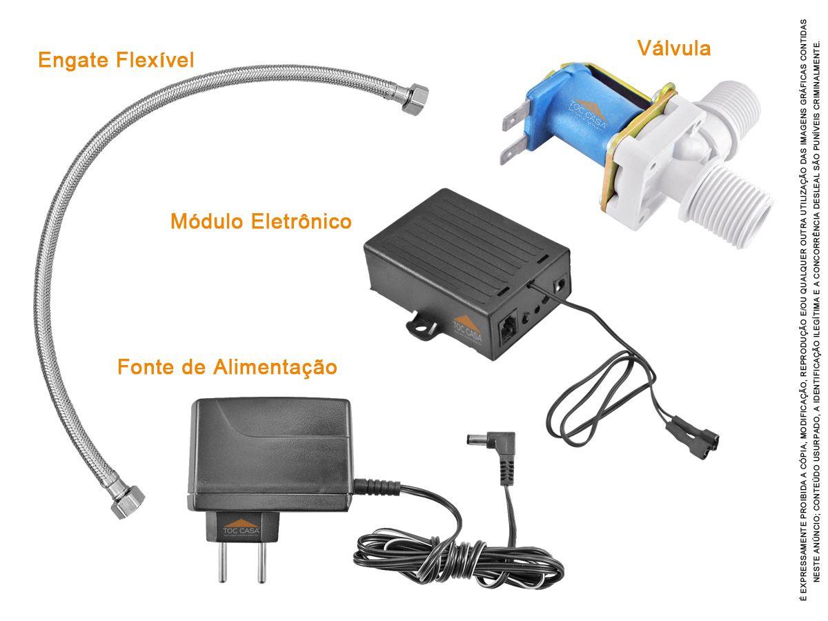 Torneira Com Sensor Mesa Sensorizada Automática Completa PCD
