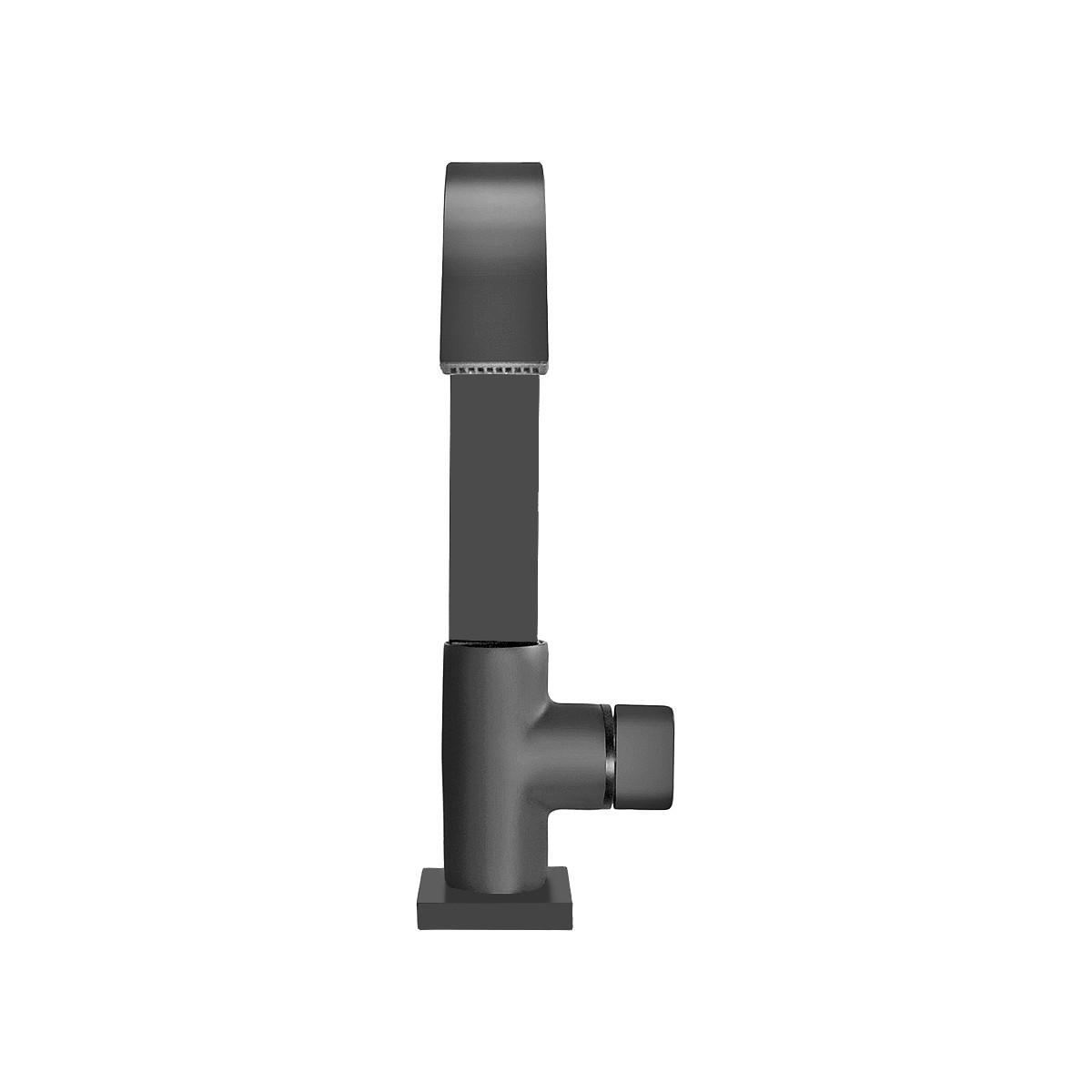 Torneira De Mesa Preto Fosco Banheiro - Idral Black 1136