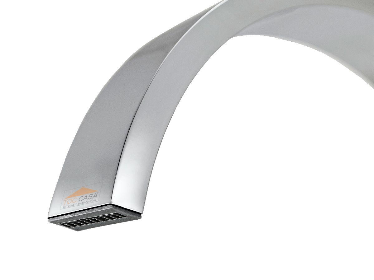 Torneira Monocomando Mesa Para Cozinha ou Banheiro Quadrada Fina Slim 100% Metal - Idral 1234