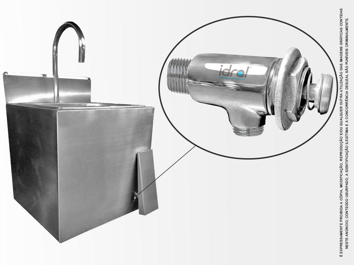 Válvula De Acionamento De Água Para Pia de Assepsia