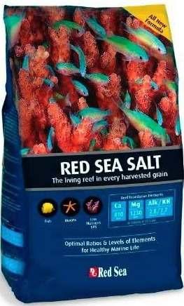 Sal Marinho Para Aquario Red Sea Salt 4kg  - FISHPET Comércio de Acessórios para Animais Ltda.