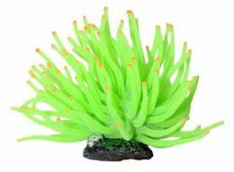 Enfeite Silicone Soma Anemona Verde 6cm