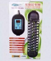 Aquecedor Com Termostato - Hopar Hk-686 - 1000w