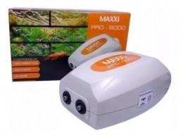 Compressor Oxigenador Para Aquários Maxxi Pro 9000 2 Saída de ar