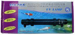 Filtro Ultravioleta Hopar Uv-611 11w Para Aquários E Lagos