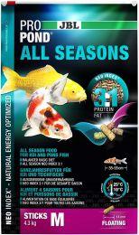 Jbl Propond All Seasons M 4,3kg Ração Para Carpas De Lagos