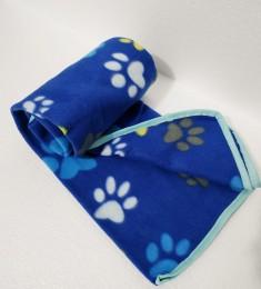 Manta Cobertor Soft Para Pet Cachorro E Gato Azul