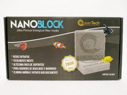Mídia Biológica Nano Block 10x10x2,5cm 2un Trata 2800 Litros