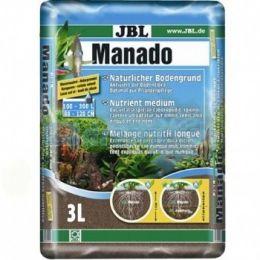 Substrato Fértil Jbl Manado 3 Litros P/ Aquários Plantados