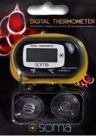 Termômetro Digital Soma Com Sensor De Temperatura  - FISHPET Comércio de Acessórios para Animais Ltda.