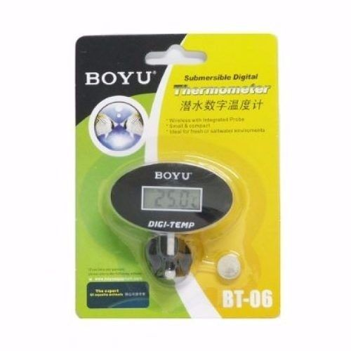 Boyu Termometro Para Aquario Digital Bt-06 ( Oval )  - FISHPET
