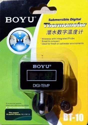 Boyu Termometro Digital Bt-10 ( Quadrado )  - FISHPET Comércio de Acessórios para Animais Ltda.