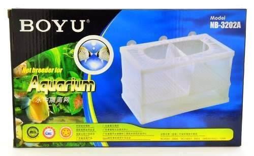 Criadeira Dupla De Tela Boyu Nb-3202a  - FISHPET Comércio de Acessórios para Animais Ltda.