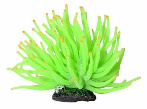 Enfeite Silicone Soma Anemona Verde 6cm  - FISHPET Comércio de Acessórios para Animais Ltda.