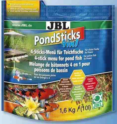 Ração Carpas Kinguios Jbl Pond Sticks 4x1 1,6kg  - FISHPET