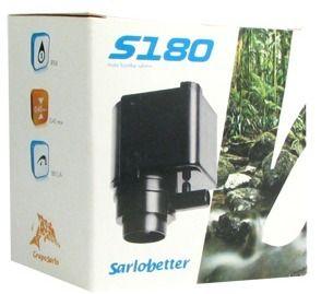 Bomba Submersa Sarlo Better S-180 - (110v)  - FISHPET Comércio de Acessórios para Animais Ltda.