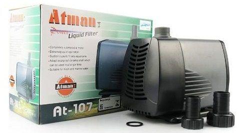 Bomba Submersa Atman AT107 - Aquários, Fontes e Lagos   - FISHPET Comércio de Acessórios para Animais Ltda.