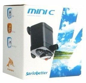 Bomba Submersa Sarlo Better Mini-c - Regulagem De Vazão (220v)  - FISHPET Comércio de Acessórios para Animais Ltda.