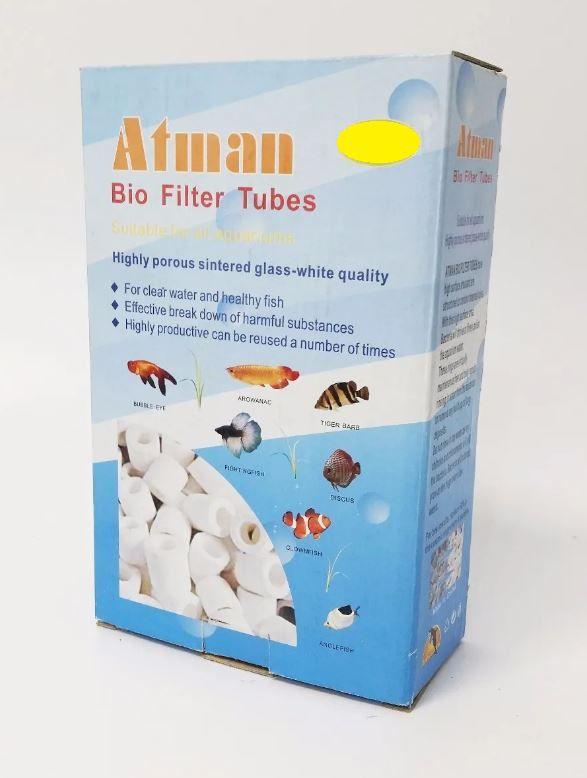 Anel Cerâmico De Vidro Sinterizado Atman - 500g  - FISHPET Comércio de Acessórios para Animais Ltda.