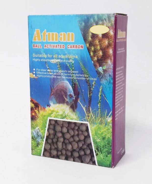 Atman Carvao Ativado Caixa 1Kg  - FISHPET Comércio de Acessórios para Animais Ltda.