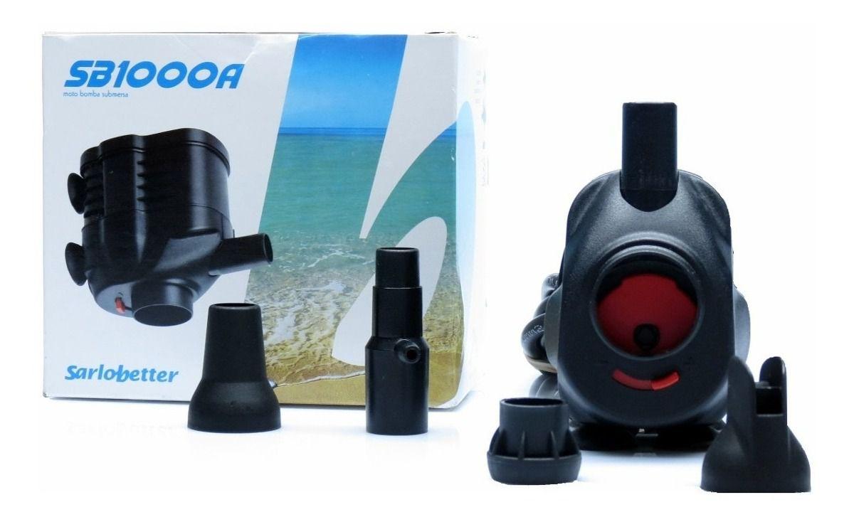 Bomba Submersa Sarlo Better SB 1000A  - FISHPET Comércio de Acessórios para Animais Ltda.