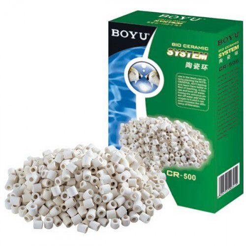 Boyu Ceramica Biológica Cr 500 500g  - FISHPET Comércio de Acessórios para Animais Ltda.