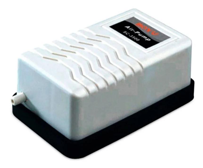 Boyu Compressor Sc-3500 1 Saída  - FISHPET Comércio de Acessórios para Animais Ltda.