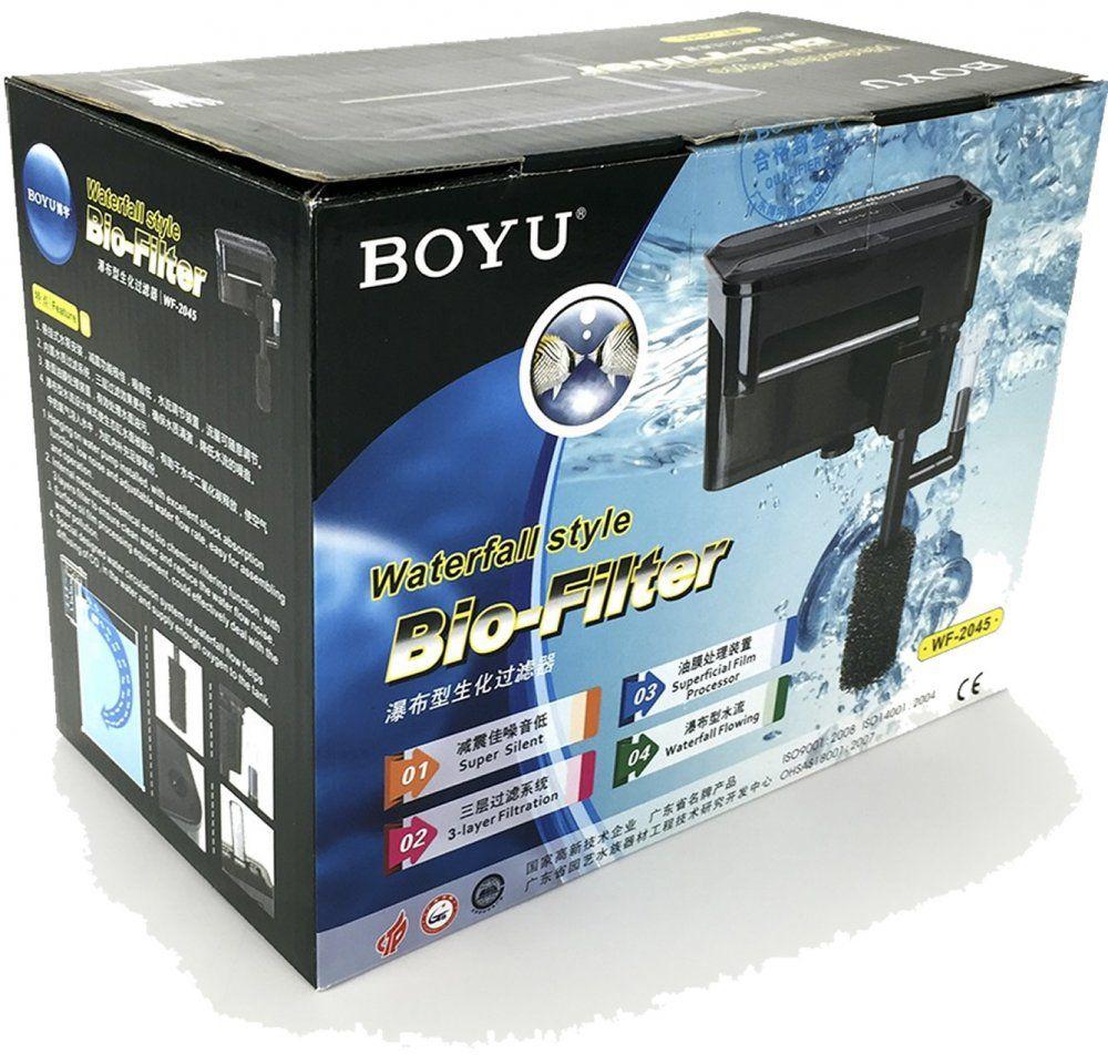 Boyu Filtro Externo Wf-2045   - FISHPET Comércio de Acessórios para Animais Ltda.