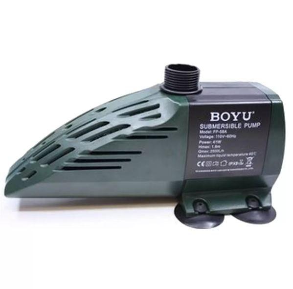 Boyu Fp-58a Bomba Submersa 2500 L/h  - FISHPET Comércio de Acessórios para Animais Ltda.