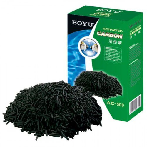 Carvão Ativado Ac 300 Boyu 300 gramas  - FISHPET Comércio de Acessórios para Animais Ltda.