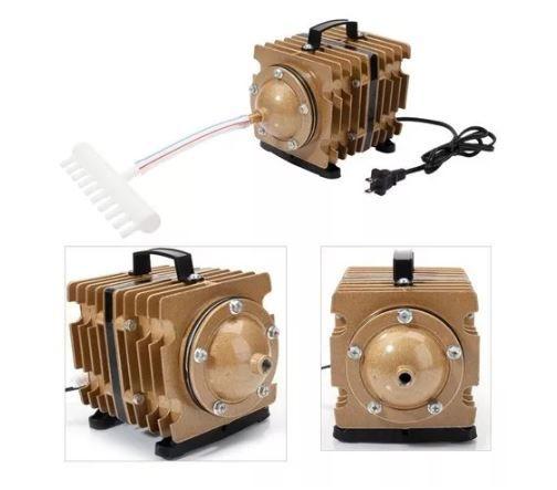 Compressor Ar Sunsun Eletro Magnetico Aco-007 90 L/min   - FISHPET Comércio de Acessórios para Animais Ltda.