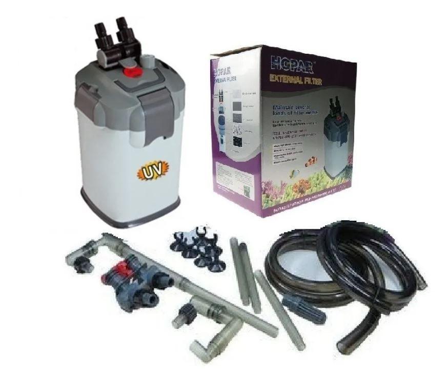 Filtro Canister Hopar 3313 Vazão De 1800 L/h E 35w  - FISHPET Comércio de Acessórios para Animais Ltda.