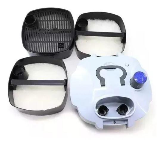 Filtro Canister Sunsun Hw-403a 1400l/h Filtragem Para Aquários  - FISHPET Comércio de Acessórios para Animais Ltda.