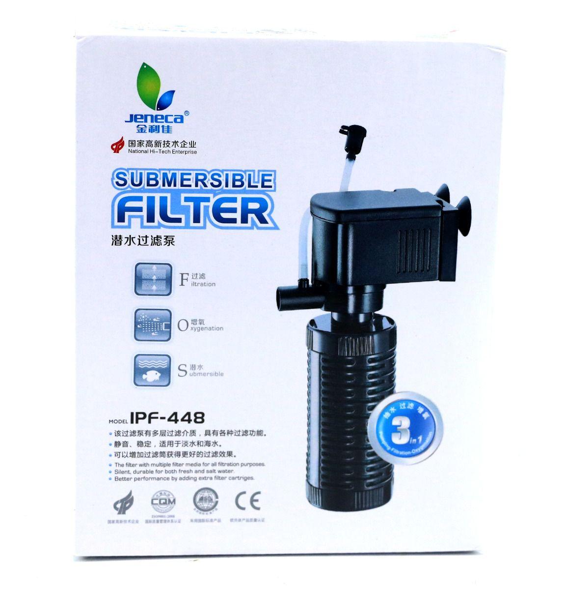 Filtro Interno Aleas Jeneca  IPF 448  - FISHPET Comércio de Acessórios para Animais Ltda.