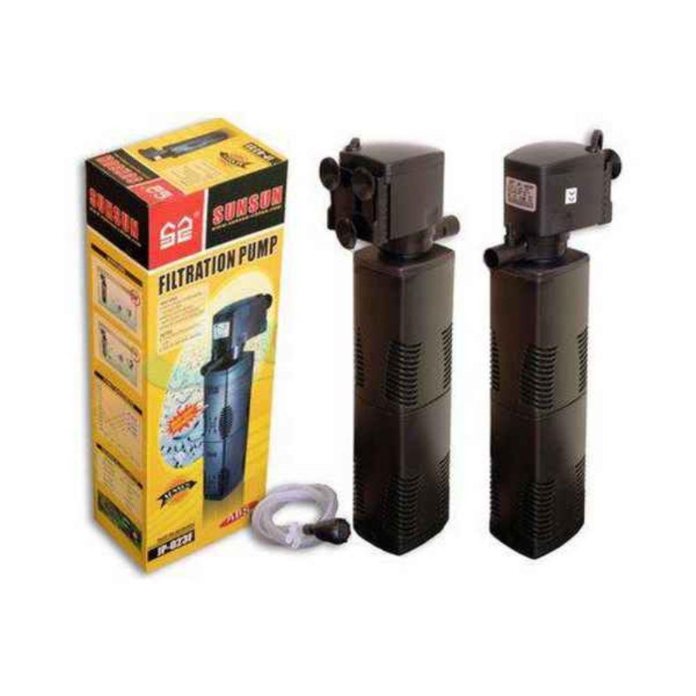 Filtro Interno Com Bomba Sunsun Jp-022F 600 L/H  - FISHPET Comércio de Acessórios para Animais Ltda.