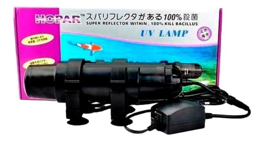 Filtro Ultravioleta Hopar Uv-611 5w Para Aquários E Lagos  - FISHPET Comércio de Acessórios para Animais Ltda.
