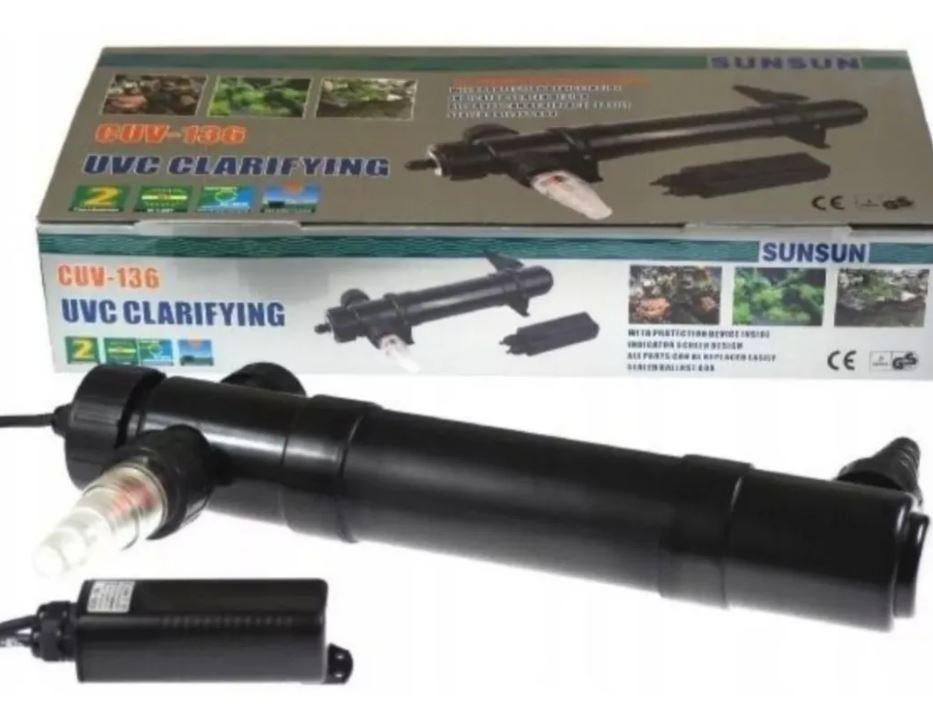 Filtro Ultravioleta Sunsun Cuv136 Aquario E Lago 36w 220v  - FISHPET Comércio de Acessórios para Animais Ltda.