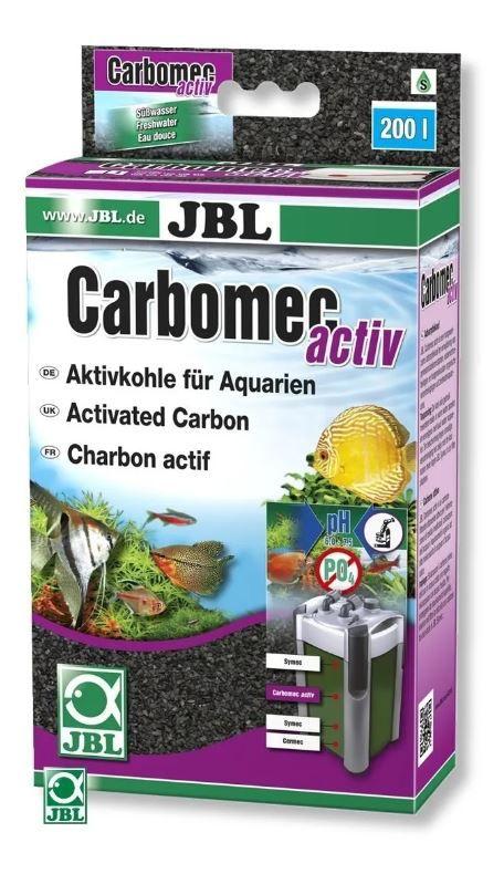 Jbl Carbomec Activ ( Carvão Granulado Alta Absorção ) 490g  - FISHPET Comércio de Acessórios para Animais Ltda.