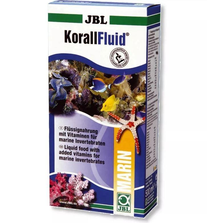 Jbl Korallfluid 100ml - Alimento Para Corais  - FISHPET Comércio de Acessórios para Animais Ltda.