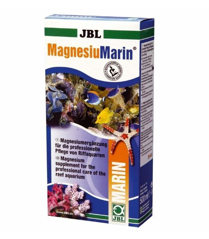 Jbl Magnesiunmarin 500ml Suplemento Magnésio Aquário Marinho  - FISHPET Comércio de Acessórios para Animais Ltda.