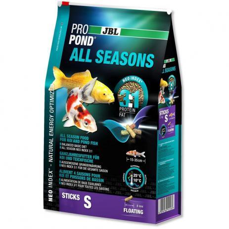 Jbl Propond All Seasons S 2,2kg - Ração Para Carpas   - FISHPET Comércio de Acessórios para Animais Ltda.