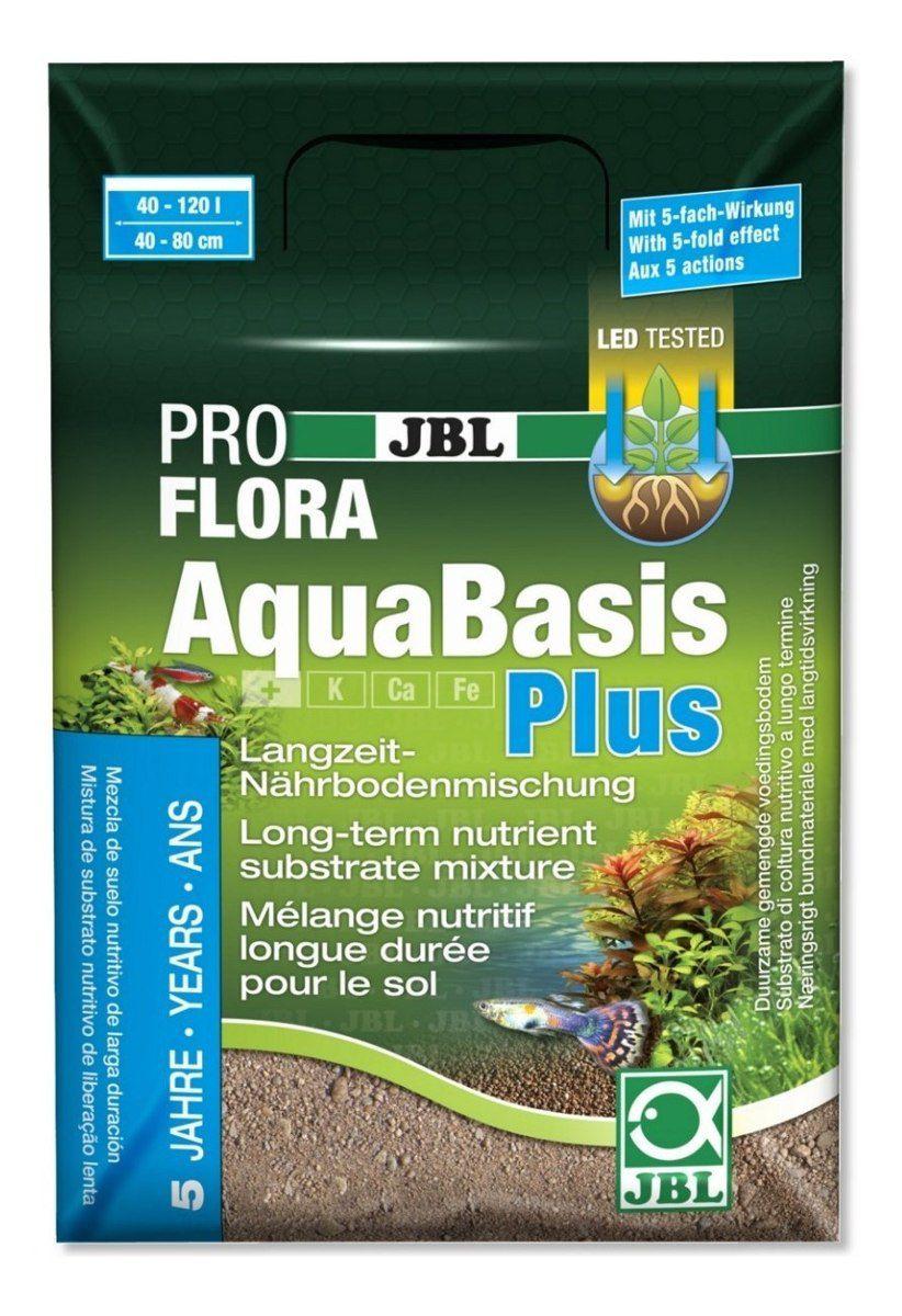 JBL Substrato Fertil AquaBasis Plus - 5L  - FISHPET Comércio de Acessórios para Animais Ltda.