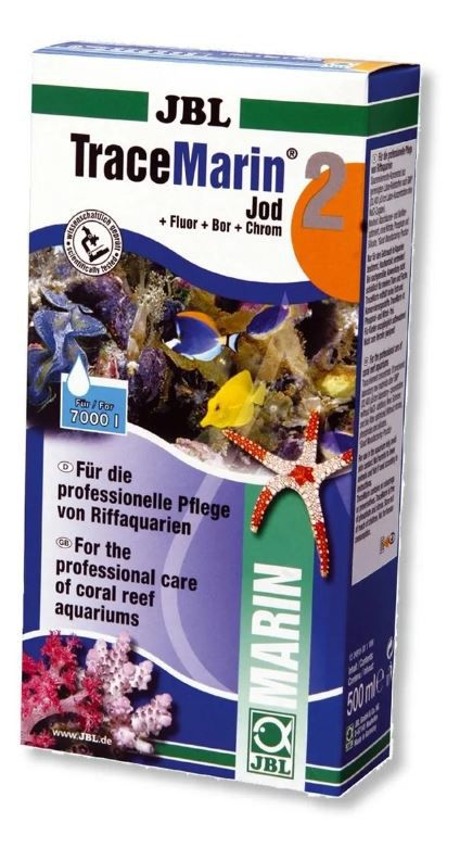 Jbl Tracemarin 2 500ml Iodo Fluor Boro Cromo Para Marinhos  - FISHPET Comércio de Acessórios para Animais Ltda.