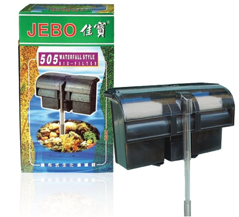 Jebo Filtro Externo 505 750 L/h  - FISHPET Comércio de Acessórios para Animais Ltda.